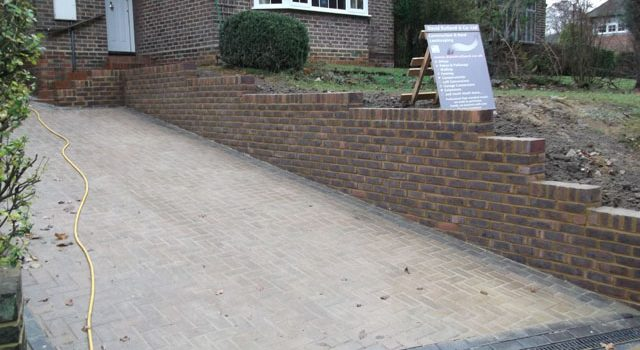 New driveways in South London