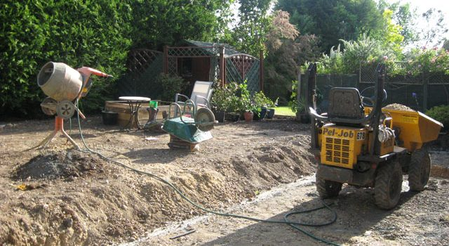Hard Landscaping- Gardens South London