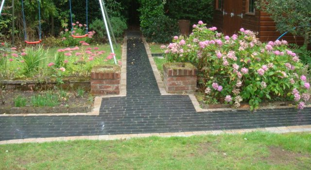 New Garden Paving In South London