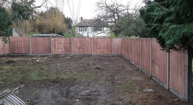 Fencing in Croydon, Bromley & South London