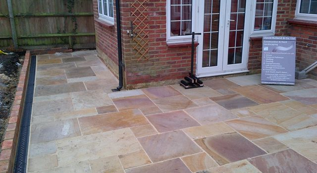 New Flagged Garden Patio in South London
